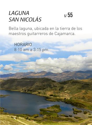 Circuitos turísticos de Cajamarca