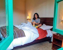 Bellas habitaciones en hotel en Cajamarca